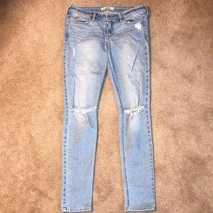 Hollister Light-Wash Jeans